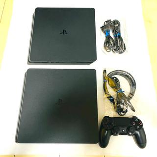PlayStation4 - ☆美品☆ PS4 プレステ4 本体 CUH-2000A 500G ブラック 2台