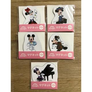 ディズニー(Disney)のエビアン マグネット 全5種 ディズニー(ノベルティグッズ)