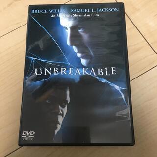 アンブレイカブル DVD(外国映画)