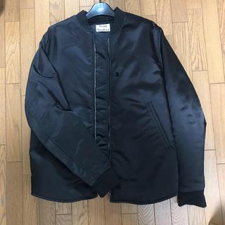 アクネ(ACNE)のAcne Studios ボンバージャケット ブラック サイズ46(ブルゾン)