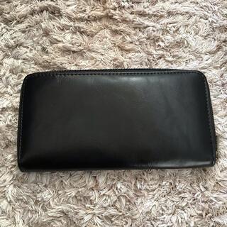 新品 未使用 長財布 ブラック メンズ レディース ファスナータイプ レザー 調