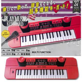 プレイミュージックキーボード☆レッド(その他)