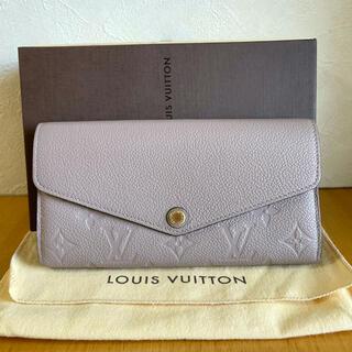 LOUIS VUITTON - ルイヴィトン⭐️アンプラント ポルトフォイユ サラ 長財布 M61800