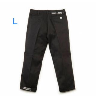フラグメント(FRAGMENT)のSequel SQ-20AW-PT04 CHINO PANTS BLACK L(チノパン)