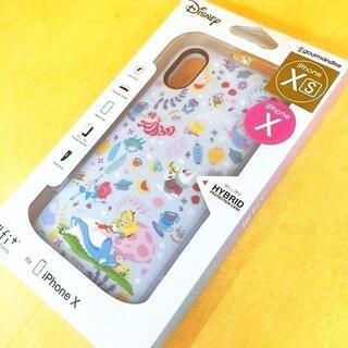 フシギノクニノアリス(ふしぎの国のアリス)のIIIIfi+ アリス iPhoneXs / X 兼用 スマホケース(iPhoneケース)
