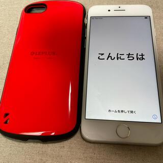 Apple - iPhone8 ホワイト 64G softbank ケース付き