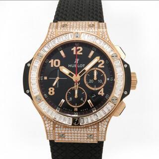 ウブロ(HUBLOT)のウブロ HUBLOT ビッグバン ゴールド ダイヤモンド(腕時計(アナログ))