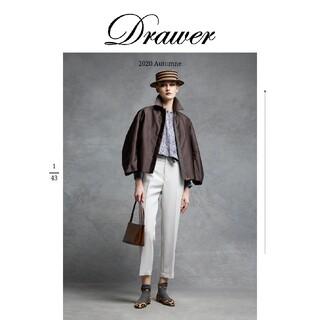 Drawer - 新品未使用✴️完売✴️20AWドゥロワー ウールモヘヤツイルパンツ 36