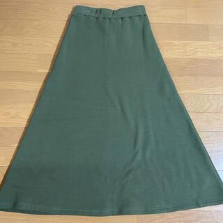 ギャルスター(GALSTAR)の裏起毛 フレアスカート ロングスカート 最終価格(ロングスカート)