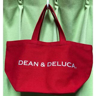 DEAN & DELUCA - DEAN&DELUCA ディーン&デルーカ トートバッグ 赤 美品