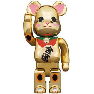 メディコムトイ(MEDICOM TOY)のBE@RBRICK 招き猫 金運 金メッキ 弐 400% 2セット (その他)