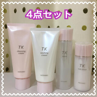 MENARD - メナード TK つき華 4点セット