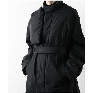 SUNSEA - 期間限定 stein 21ss padded stand collar coat