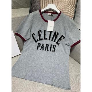 セリーヌ(celine)の【CELINE】☆コットンTシャツ (Tシャツ/カットソー(半袖/袖なし))
