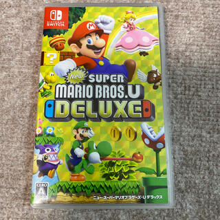 Nintendo Switch - ニュースーパーマリオブラザーズU デラックス