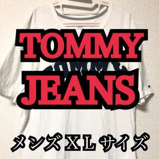 トミーヒルフィガー(TOMMY HILFIGER)の訳あり/写メで確認できる程度のシミ/メンズXLサイズ(Tシャツ/カットソー(半袖/袖なし))