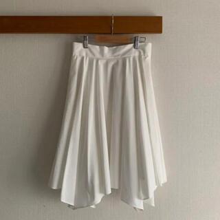 31 Sons de mode - 即購入OK【31 Sons de mode】イレギュラーヘムスカート(ホワイト)