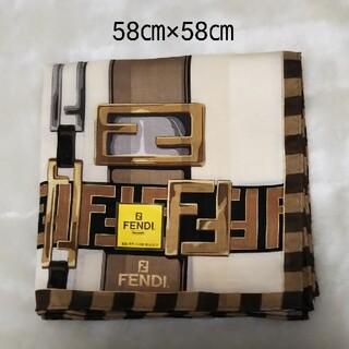 FENDI - 【新品】FENDI ハンカチ スカーフ(大判)