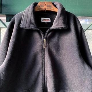 ART VINTAGE - 90s 古着 フリースジャケット 上質ボア オーバーサイズ オールブラック