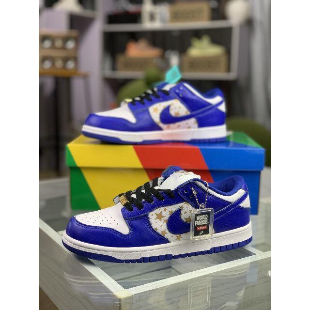 Supreme(シュプリーム)の26cm Supreme x Nike SB Dunk Low メンズの靴/シューズ(スニーカー)の商品写真