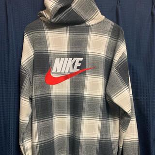 Supreme - supreme NIKE plaid hooded sweatshirt