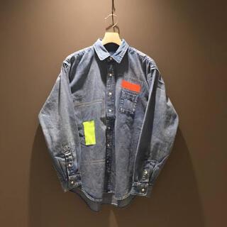 BEAMS - BEAMS SSZ denim shirt S エスエスゼット デニムシャツ