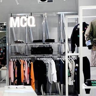 Alexander McQueen - アレキサンダーマックイーンMcQ ポルカドットフリル ワンピース