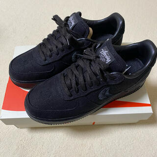 STUSSY - STUSSY x NIKE AIR FORCE 1 LOW BLACK  26
