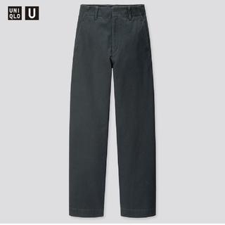 UNIQLO - 【新品未使用】ユニクロ ワイドフィットカーブパンツ