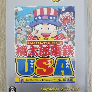 ★ PS2 桃鉄 桃太郎電鉄 USA ディスクとケースのみ