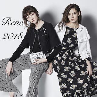 René - Rene♡ 2018年 ブローシャ掲載 マリアケントツイードジャケット