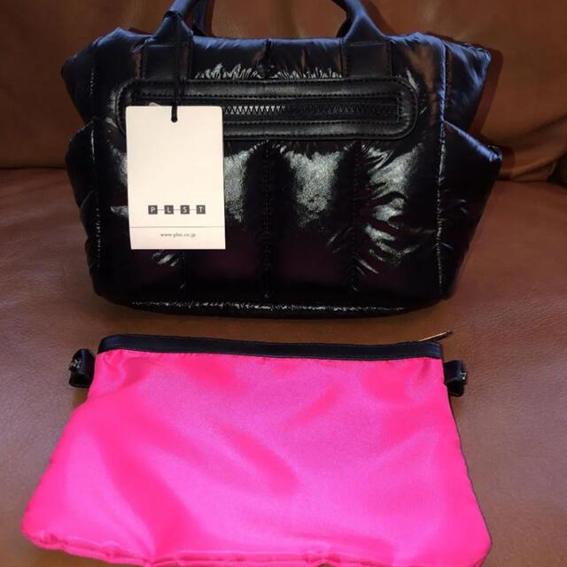 PLST(プラステ)のタイムセール!!PLST プラステ ショルダーバッグ ブラック 新品 未使用 メンズのバッグ(ショルダーバッグ)の商品写真