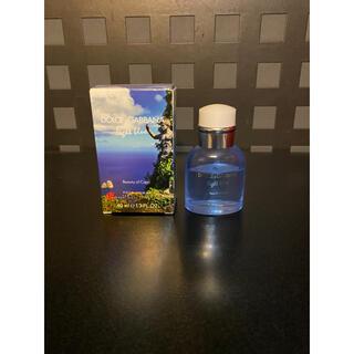 ドルチェアンドガッバーナ(DOLCE&GABBANA)の人気ドルチェ&ガッバーナD&Gオードトワレ40mlライトブルー香水カプリ(ユニセックス)