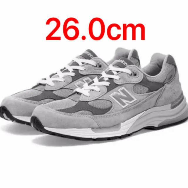 New Balance(ニューバランス)のNew balance M992 GR 26.0cm メンズの靴/シューズ(スニーカー)の商品写真