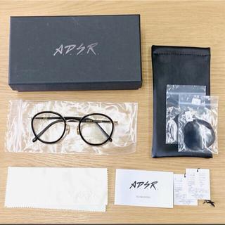 アヤメ(Ayame)のA.D.S.R. EVANS BLACK GOLD CLEAR / メガネ 眼鏡(サングラス/メガネ)