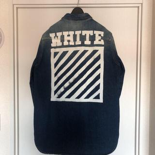 OFF-WHITE - 美品  off-white デニムシャツ イーストランドタグ付き 国内正規品