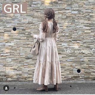 グレイル(GRL)の【新品未使用】 ティアードワンピース(ロングワンピース/マキシワンピース)