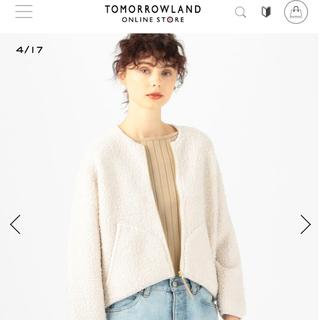 トゥモローランド(TOMORROWLAND)の人気完売品 2019AW マカフィー ウールナイロンジップアップブルゾン(ブルゾン)