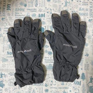 モンベル(mont bell)のmontbell 手袋(アウトレットショップにて購入)(手袋)