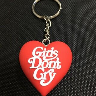 Girls Don't Cry × Amazon ハートキーホルダー 赤