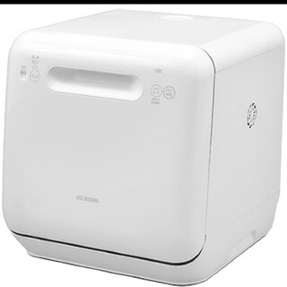 アイリスオーヤマ - アイリスオーヤマ 食器洗い乾燥機 (〜3人用) ホワイト ISHT-5000-W