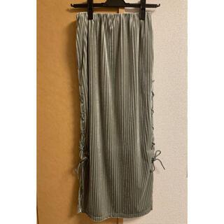アメリヴィンテージ(Ameri VINTAGE)のレースアップタイトスカート ameri vintage ロングスカート(ロングスカート)