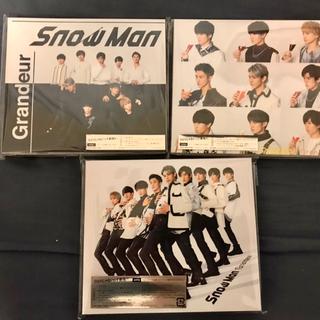 Johnny's - Snow Man CD 3形態セット Grandeur スノーマン