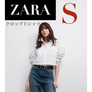 ZARA - 【新品/未着用】ZARA クロップドシャツ バルーンスリーブシャツ シャツ