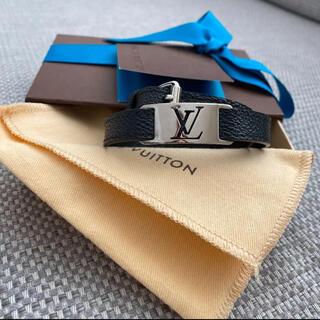 ルイヴィトン(LOUIS VUITTON)のルイヴィトン ブラスレ・サイン イット ダミエ ブラック ブレスレット (ブレスレット)
