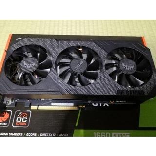 エイスース(ASUS)の【希少】【絶版】ASUS GeForce GTX 1660SUPER TUF (PCパーツ)