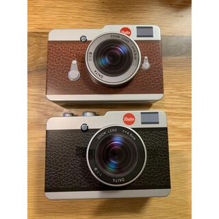 カルディ(KALDI)のKALDI カメラ 缶 チョコレート 2個セット(菓子/デザート)