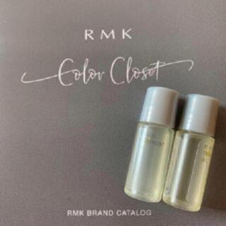 アールエムケー(RMK)の新品★RMK Wトリートメントオイル ★サンプル 2点セット(美容液)