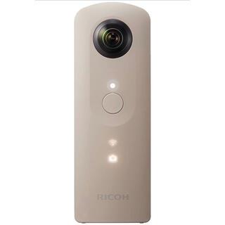 RICOH - 全天球カメラ リコー RICOH THETA SC BEIGE 360°カメラ