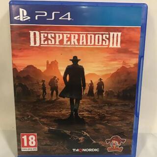 PlayStation4 - PS4 Desperados Ⅲ デスペラードス3 海外版 日本語字幕あり